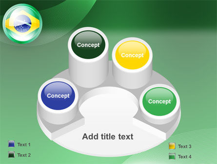 Brazil Sign PowerPoint Template Slide 12