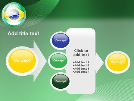 Brazil Sign PowerPoint Template Slide 17