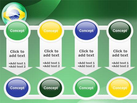 Brazil Sign PowerPoint Template Slide 18