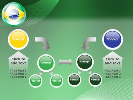 Brazil Sign PowerPoint Template Slide 19