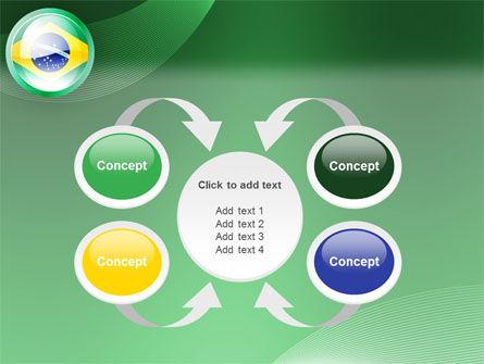 Brazil Sign PowerPoint Template Slide 6