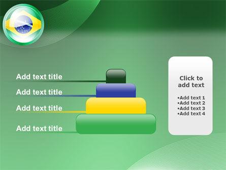 Brazil Sign PowerPoint Template Slide 8