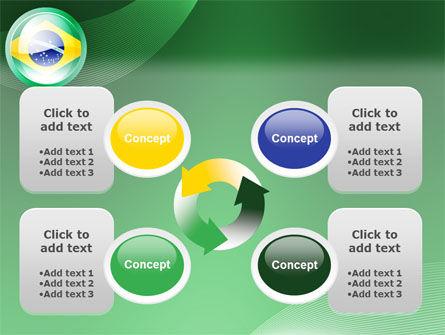 Brazil Sign PowerPoint Template Slide 9