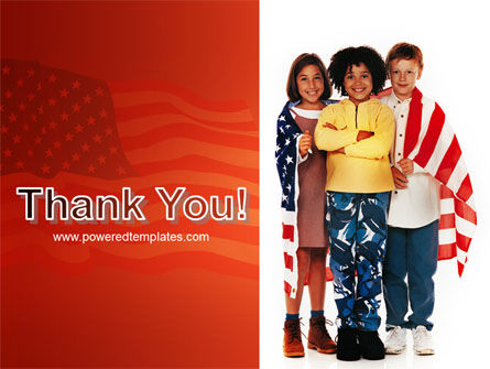 American Children PowerPoint Template Slide 20