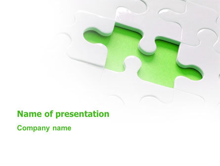 Abstract/Textures: Part of the Whole PowerPoint Template #02930