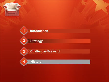 Comfort Chair PowerPoint Template, Slide 3, 02933, Careers/Industry — PoweredTemplate.com