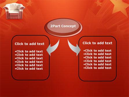 Comfort Chair PowerPoint Template, Slide 4, 02933, Careers/Industry — PoweredTemplate.com