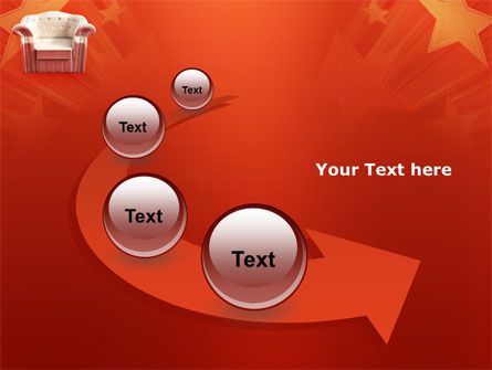 Comfort Chair PowerPoint Template Slide 6
