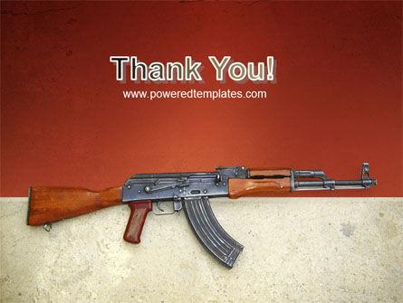 Kalashnikov PowerPoint Template Slide 20