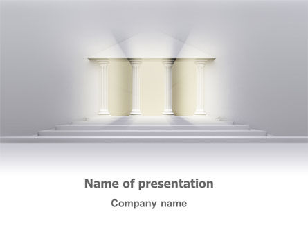 Portico PowerPoint Template