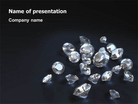 Diamonds PowerPoint Template