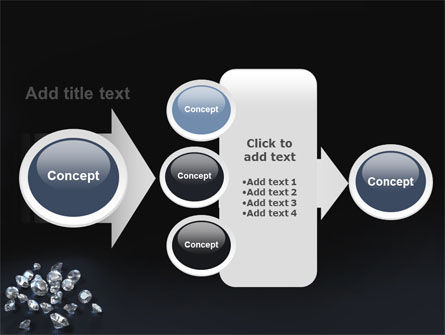 Diamonds PowerPoint Template Slide 17