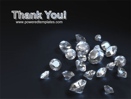 Diamonds PowerPoint Template Slide 20