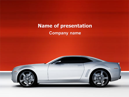 Cars and Transportation: Supercar PowerPoint Template #02939
