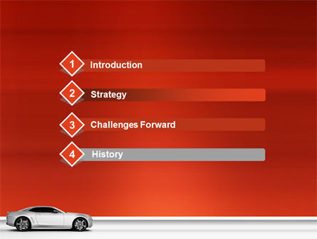 Supercar PowerPoint Template, Slide 3, 02939, Cars and Transportation — PoweredTemplate.com