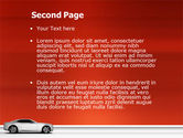 Supercar PowerPoint Template#2