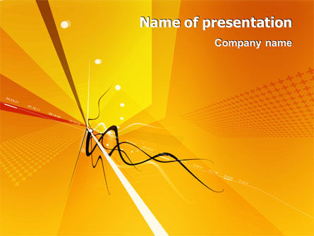 Abstract/Textures: Imagination PowerPoint Template #02940