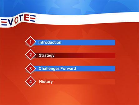 Vote PowerPoint Template, Slide 3, 02942, Politics and Government — PoweredTemplate.com