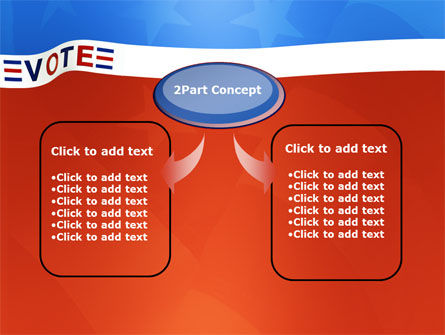 Vote PowerPoint Template, Slide 4, 02942, Politics and Government — PoweredTemplate.com