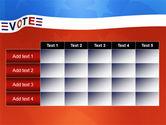 Vote PowerPoint Template#15