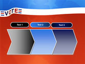 Vote PowerPoint Template#16