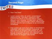 Vote PowerPoint Template#2