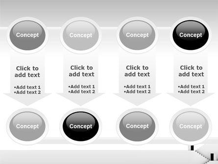 Open Doors And Stairwells PowerPoint Template Slide 18