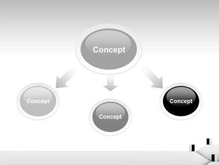 Open Doors And Stairwells PowerPoint Template, Slide 4, 02943, Business Concepts — PoweredTemplate.com