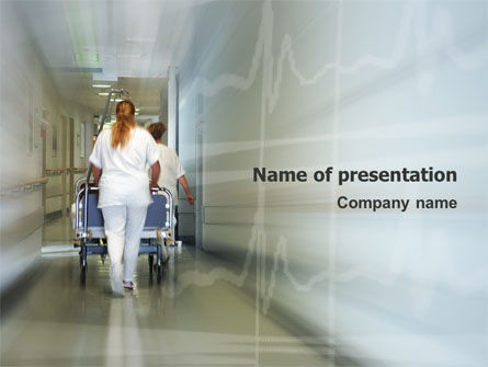 Medical: Resuscitation Department PowerPoint Template #02944