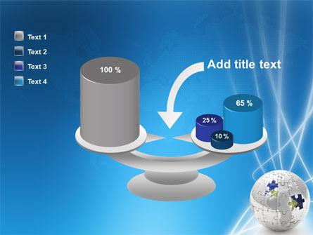 Jigsaw World PowerPoint Template Slide 10
