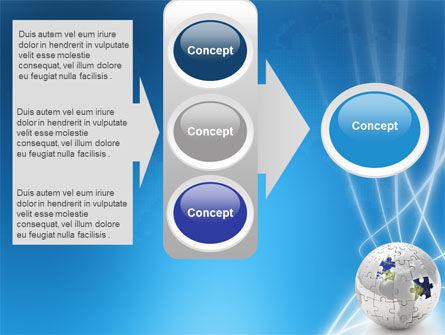 Jigsaw World PowerPoint Template Slide 11