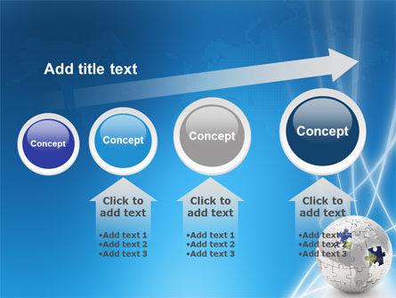 Jigsaw World PowerPoint Template Slide 13