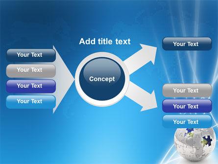 Jigsaw World PowerPoint Template Slide 14