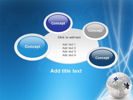 Jigsaw World PowerPoint Template Slide 16