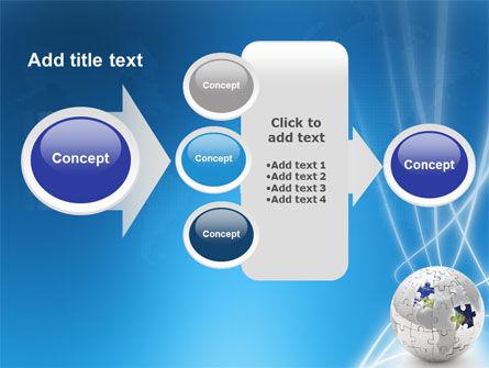 Jigsaw World PowerPoint Template Slide 17