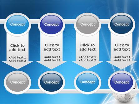 Jigsaw World PowerPoint Template Slide 18
