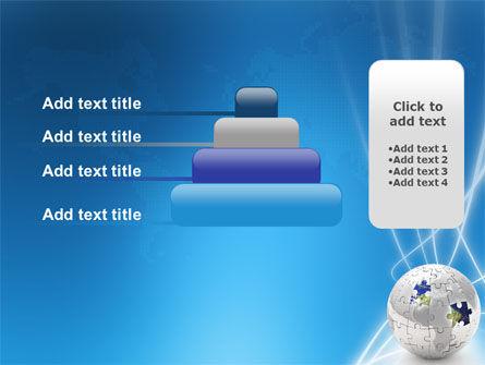 Jigsaw World PowerPoint Template Slide 8