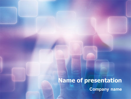 Technology and Science: Interactive PowerPoint Template #02946