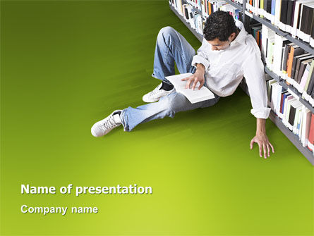 Self-education PowerPoint Template, 02948, Education & Training — PoweredTemplate.com