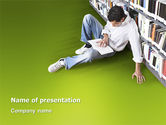 Education & Training: Self-education PowerPoint Template #02948