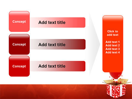 Love Present Free PowerPoint Template Slide 12