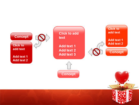 Love Present Free PowerPoint Template Slide 13