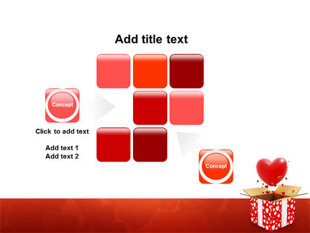 Love Present Free PowerPoint Template Slide 16