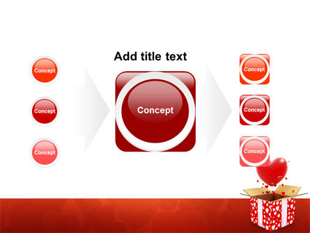 Love Present Free PowerPoint Template Slide 17