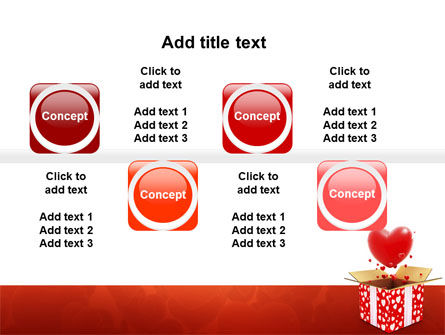 Love Present Free PowerPoint Template Slide 19
