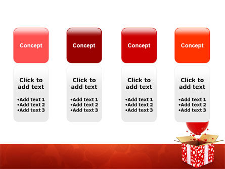 Love Present Free PowerPoint Template Slide 5