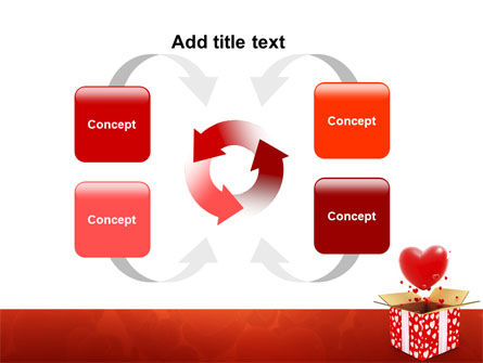 Love Present Free PowerPoint Template Slide 6