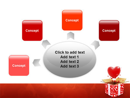 Love Present Free PowerPoint Template Slide 7