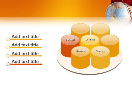 World in Your Hand PowerPoint Template Slide 12