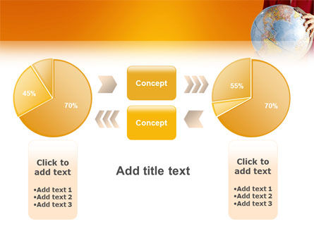 World in Your Hand PowerPoint Template Slide 16